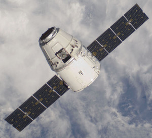 SpaceX's Dragon spacecraft arrives at the ISS on a NASA-contracted resupply mission. Credit: NASA