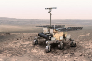 Mar's ExoMars rover, to be deployed on Mars in 2018. Source: ESA