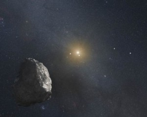 An artist's rendition of a Kupier Belt Object, perhaps similar to the one NASA's New Horizons spacecraft may visit in the coming years. Source: NASA
