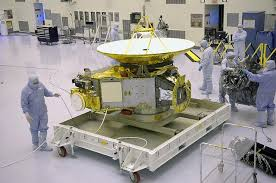NASA's New Horizons spacecraft, which encountered Pluto in 2015 and is expected to flyby a Kuiper Belt world in the coming years. Source: NASA