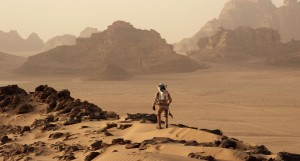 """The Martian"" - bound to be a big hit in China. Credit: Twentieth Century Fox."