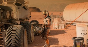 """The Martian"" - one of the most realistic space movies ever made, for the most part."