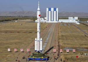 "A Chinese ""Long March 9"" rocket. Don't expect to see it launching anything involving the United States. Source: CSNA"